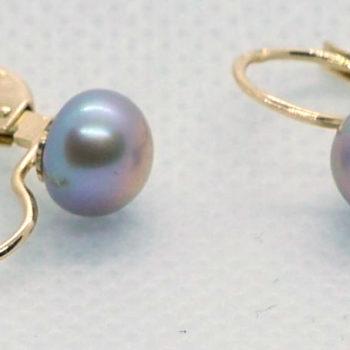 Náušnice s perlou