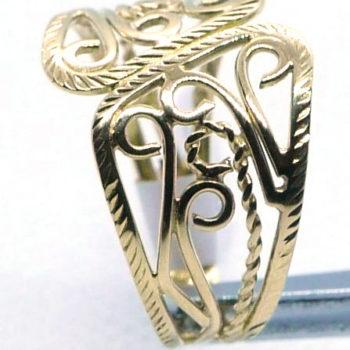 Prsten filigrán