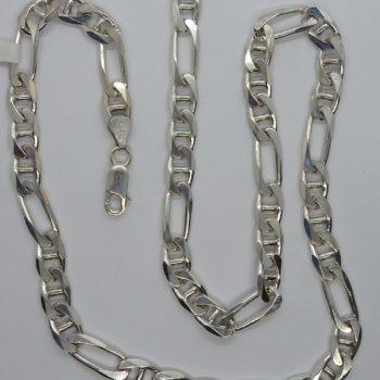 Stříbrný řetěz pro muže