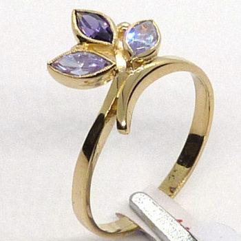 Prsten s ametystem