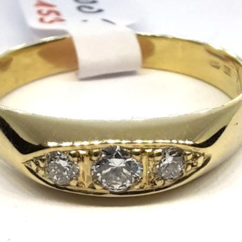 Prsten s brilianty